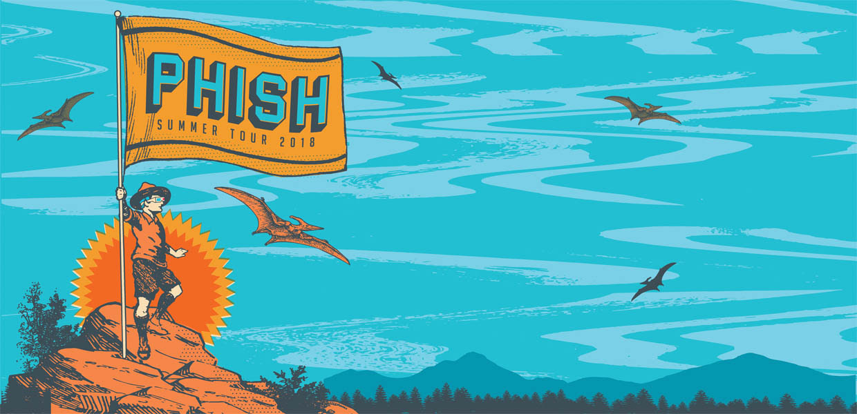 Image result for phish summer tour 2018