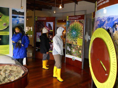 Lugares turísticos del Ecuador: Centro de visitantes del Parque Nacional El Cajas.