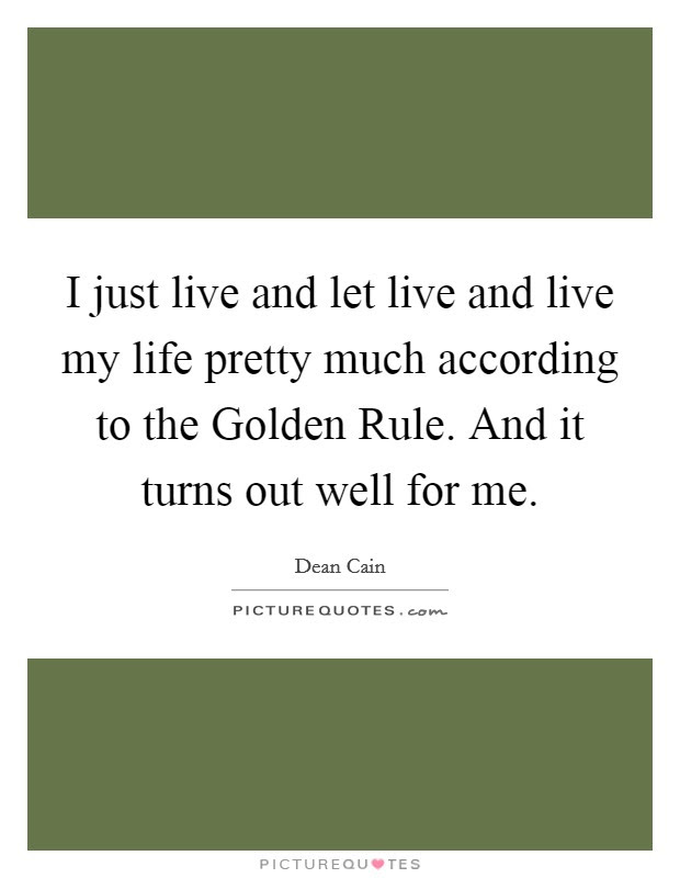 Golden Rule Quotes Sayings Golden Rule Picture Quotes