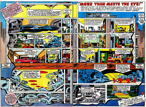 Avengers Mansion, from Avengers Annual #1