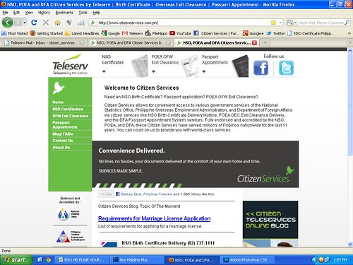 Teleserv Website