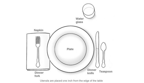 An Informal Table Setting  EntertainingCouple.com