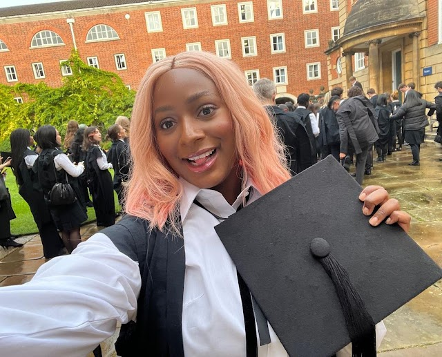 DJ Cuppy's Matriculation Day At The University Of Oxford, England (Photos)