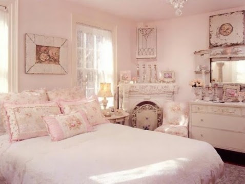Pink Shabby Chic Bedroom Ideas