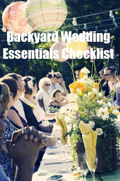 The Backyard Wedding: At Home Weddings Are Beautiful, but