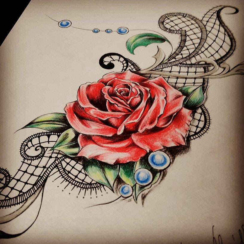 60 Best Lace Tattoo Designs Meanings Sexy And Stunning 2019