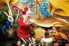 Magical Alice In Wonderland Themed Entertainment London Uk Parties
