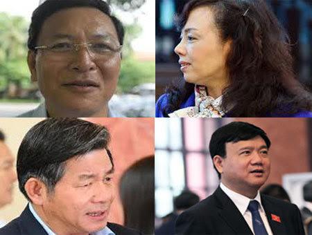 từ chức, bộ trưởng, chất vấn