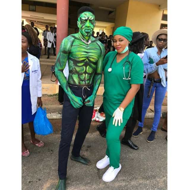 SEE HOW FUNAAB STUDENTS CELEBRATED HALLOWEEN.