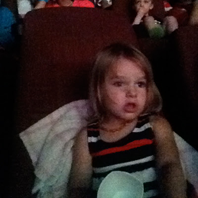 sweet p's first movie