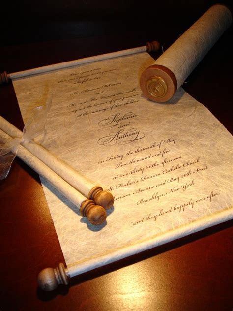 17 Best ideas about Scroll Invitation on Pinterest