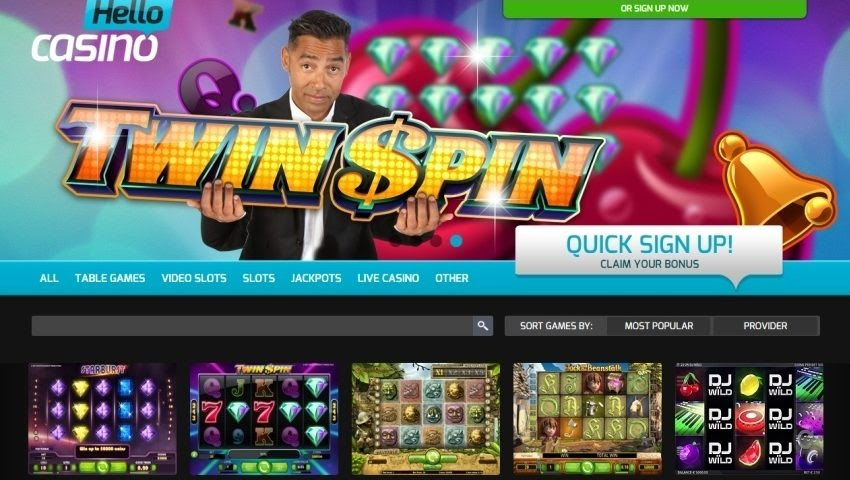 Slots sign up bonus