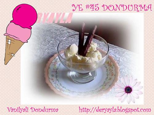 Vanilyali Dondurma - Deryayla