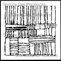 Layers Stencil by Mary Beth Shaw