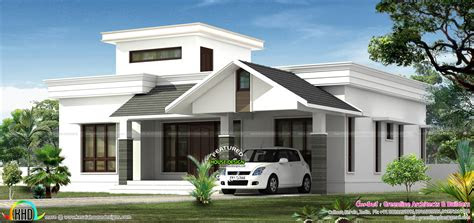 budjet single floor house design  side views