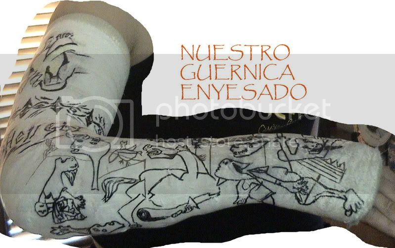Guernica en escayola
