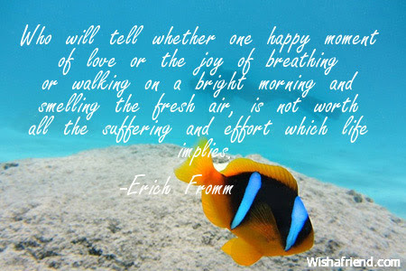 Good Morning Quote Who Will Tell Whether One Happy