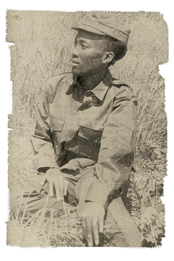 Josina Machel sentado