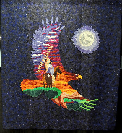 Spirit of the Eagle by Jennifer Haines and Angela Lamoree