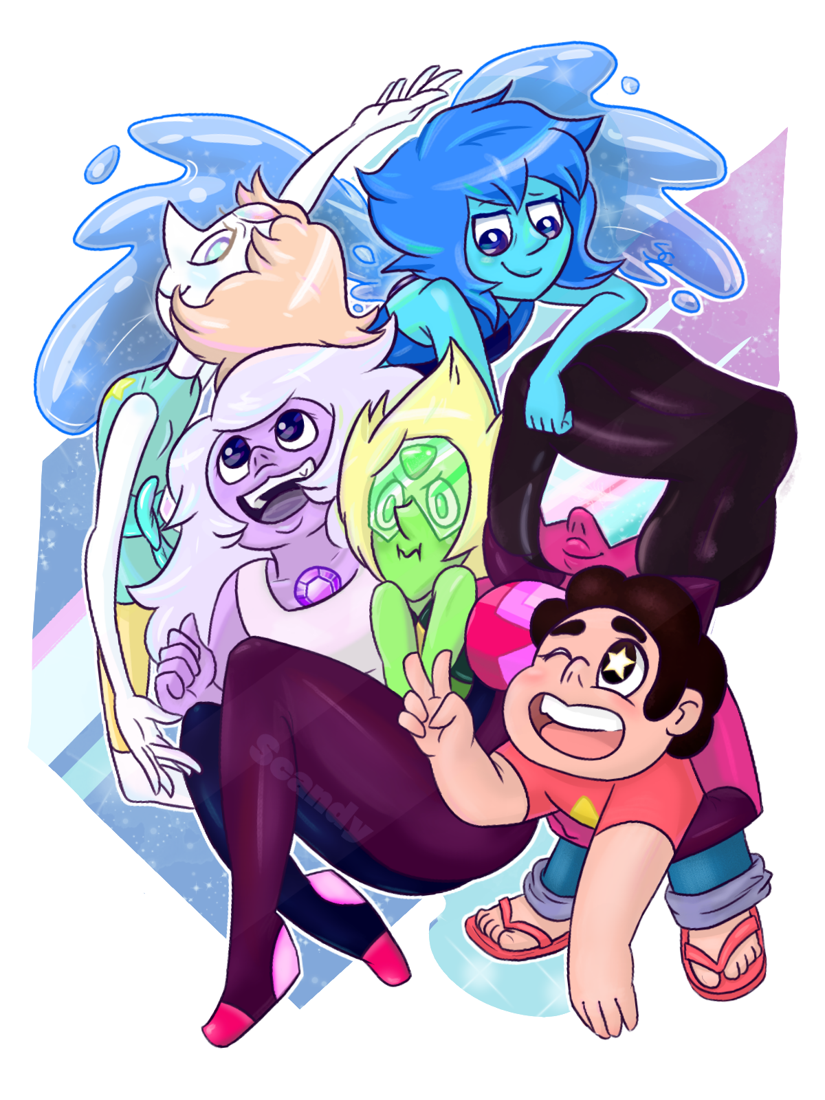 WE ARE THE CRYSTAL GEMS °˖✧◝(⁰▿⁰)◜✧˖°