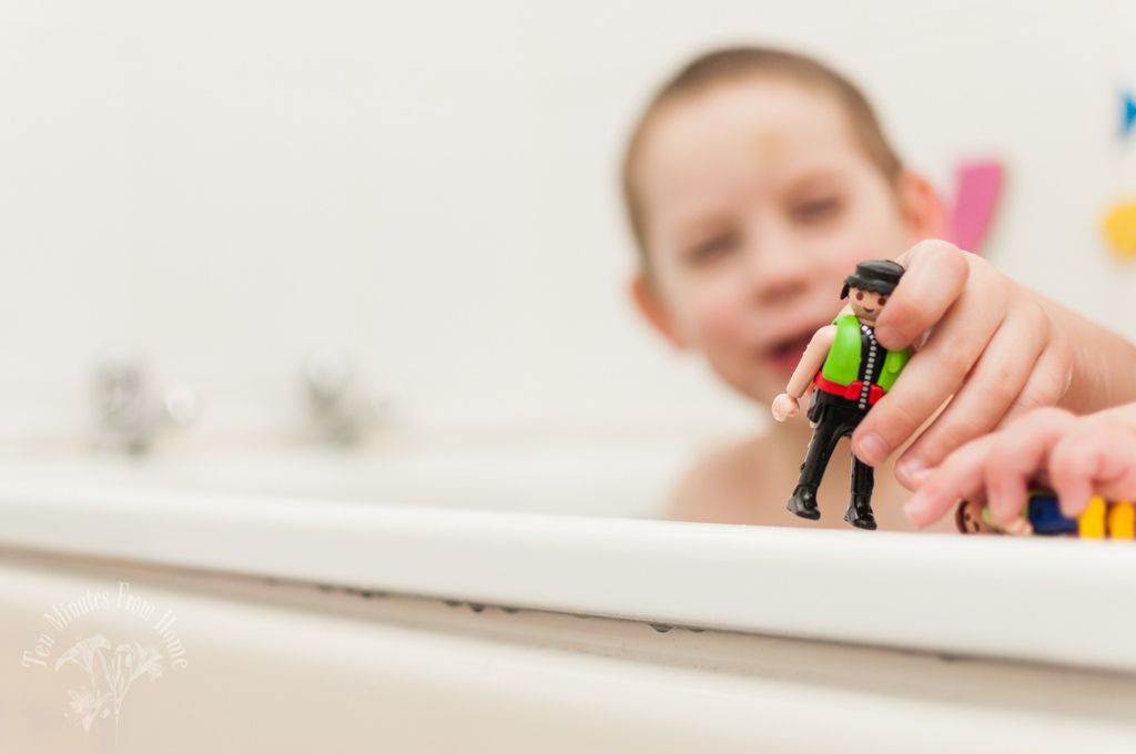 Thurs 7.Feb, Two little boys in the bath one day...