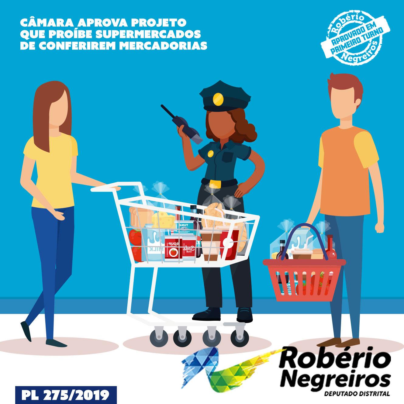 Resultado de imagem para Câmara aprova Projeto que proíbe supermercados de conferirem mercadorias