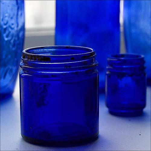 blue jar