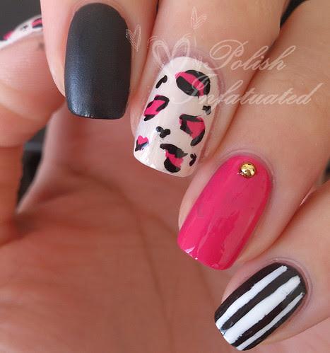 a punky manicure