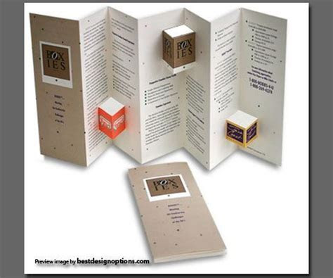 Brochure Design Ideas Handmade   theveliger