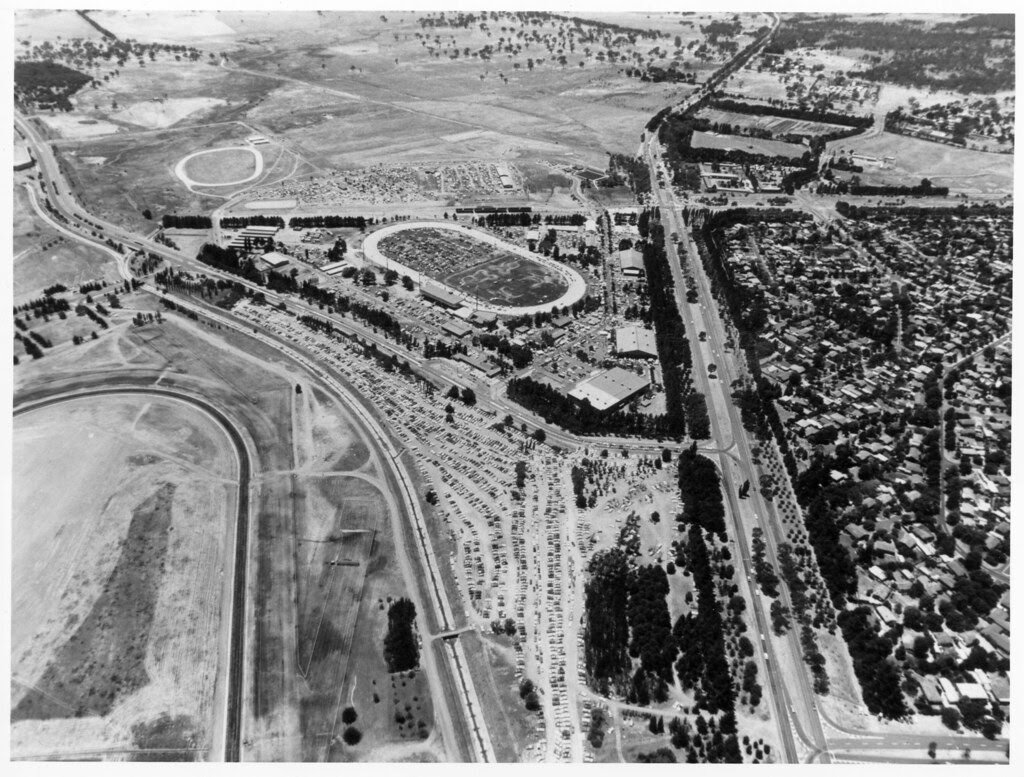 Aerial View Of Natex Canberra  An Aerial