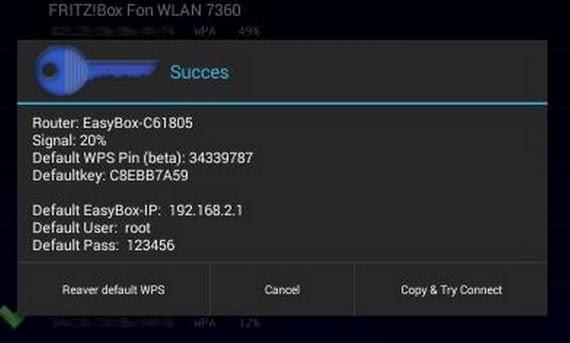 como descifrar contrasenas wifi facilmente con speedkey para android 2 Cómo descifrar contraseñas Wifi fácilmente con SpeedKey para Android
