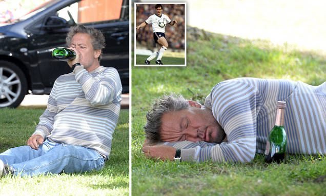 England's Kenny Sansom wants to kill himself as he battles alcoholism