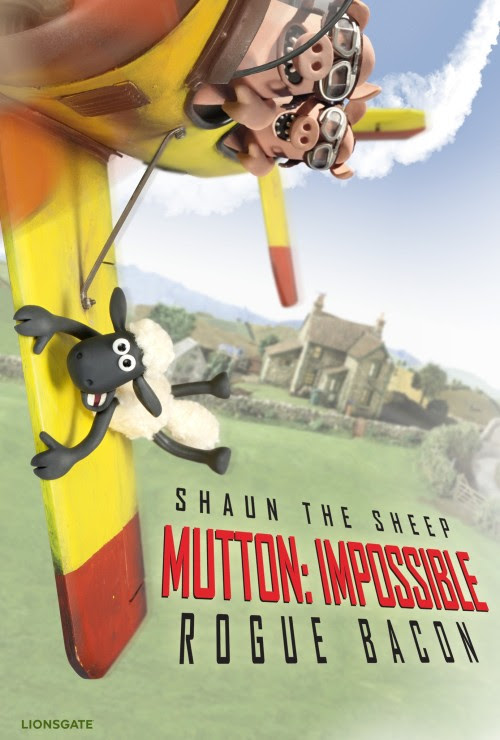 spoof posters for Shaun The Sheep Movie
