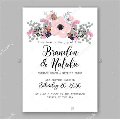 Wedding Card Examples   Free & Premium Templates
