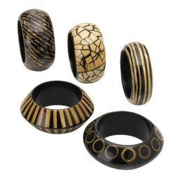 Wooden Bracelet Set