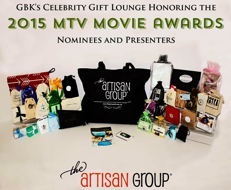 The 2015 MTV Gift Bag from The Artisan Group