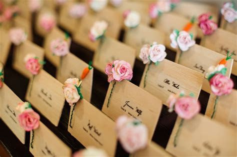 Inspiration and Ideas: Escort   Place Cards   United With Love
