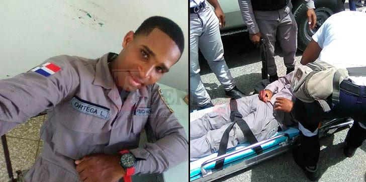 Resultado de imagen para Agentes policiales sufrieron accidente durante una persecución