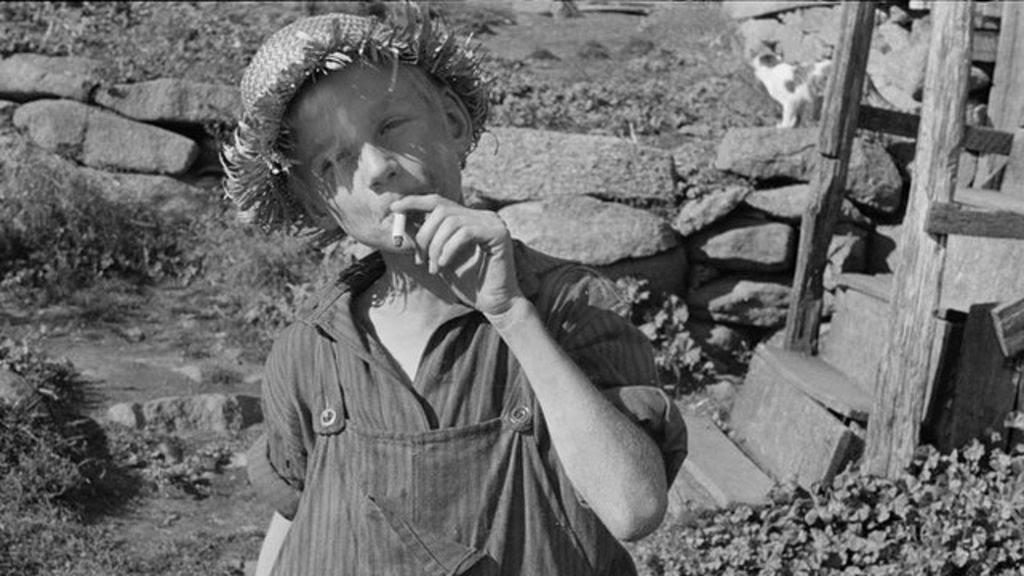 Picturing America's Great depression - BBC News