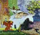 Paul Cézanne.  Uma Olympia moderna.