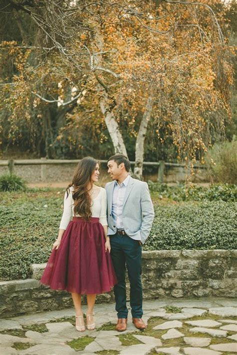 60 Best Ideas of Fall Engagement Photo Shoot   Deer Pearl