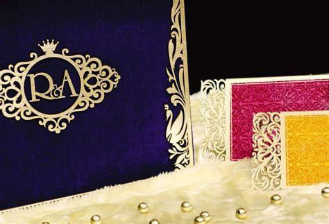 Designed Acrylic   Voguish Wedding Invitations