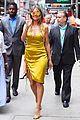 heidi klum is a golden goddess in nyc 02