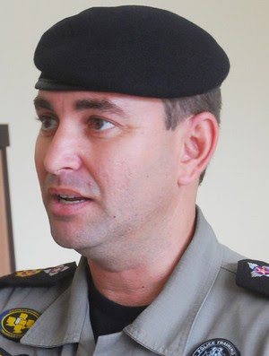 Tenente-coronel Souza Neto, comandante da Polícia Militar em Campina Grande (Foto: Nicolau de Castro / Jornal da Paraíba)