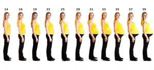 Pregnancy Body Changes Week 1 To Week 42