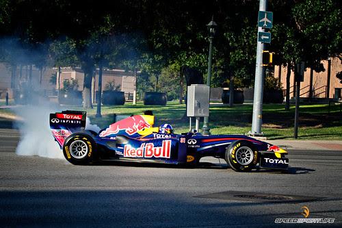 Red Bull Racing Showcar Demonstration - Austin, TX