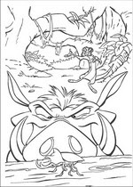kidsnfun  92 coloring pages of lion king