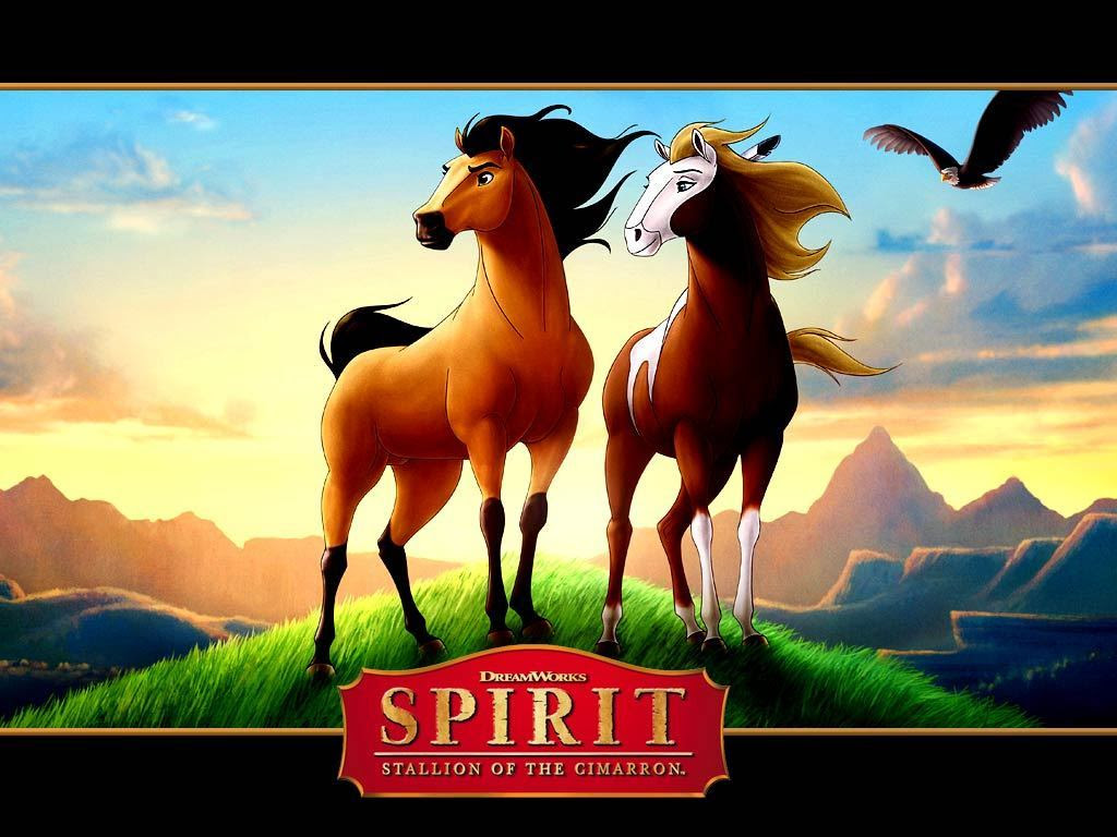 Spirit And Rain Spirit Stallion Of The Cimarron Wallpaper