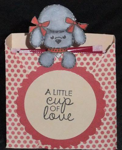 Cup of love tea bags