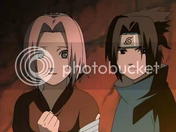 Sasuke & Sakura Anime Wallpaper